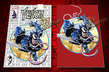 VENOM #1 Mike Mayhew KRS Comics Variant Set - WHITE/SILVER + RED VIRGIN