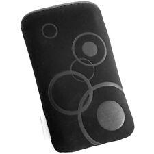 Orig. Bubble Slim Case f HTC ONE X Tasche schwarz Hülle Etui