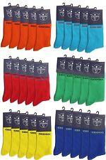 12 Paire (rouge, vert, bleu, turquoise, orange, jaune) de chaussettes hommes chaussettes Chiemsee 43-46