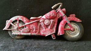 1950's Kiddie Hubley Motorcycle Toy Diecast Metal RARE