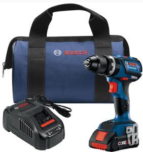 BOSCH CORE 18V GSB18V-535CB15 1/2 Hammer Drill/driver Kit