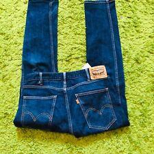 mens Blue levi 505 jeans - size 32/30 good condition