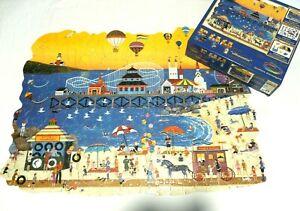 Ceaco Corkboard Silhouette Jigsaw Puzzle - Seashore Shenanigans - 544 Pieces