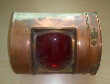 Alte Schiffslampe Industrielampe Bunkerlampe Kellerlampe Loft Fabriklampe
