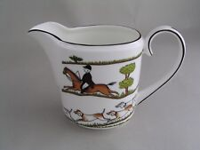 WEDGWOOD HUNTING SCENE MILK JUG, NEW, 2nd.
