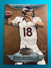 New listing 2012 Topps Triple Threads SEPIA #100 PEYTON MANNING Broncos /310 Parallel MT