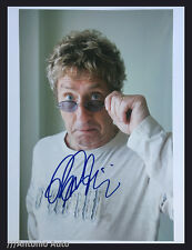ROGER DALTREY / THE WHO - HAND-SIGNED 12X8 PHOTO AUTOGRAPH