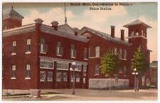 Grand - Mere,Quebec ~ Police Station ~ Antique Postcard