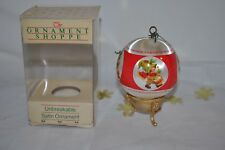 1982 vintage AMERICAN GREETINGS DRUMMER BOY  SATIN  ORNAMENT in box USA made