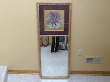 Beautiful Decorative Mirror With Hunting Scene - Measures 23 1/2 X 55 1/2 Inches