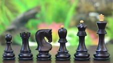 Chessbazaar Exclusive Russian Zagreb Dyed Chess Pieces in Stained Box Wood M0068