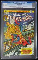 Amazing Spider-Man #133 Marvel Comics CGC 9.8 White Pages Molten Man App (1009)