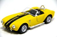 "New 5"" Kinsmart 1965 Shelby Cobra 427 S/C Diecast Model Toy Car 1:32 Yellow"