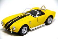 "New 5"" Kinsmart 1965 Shelby Cobra 427 S/C Diecast Model Toy Car 1:32 Yellow"