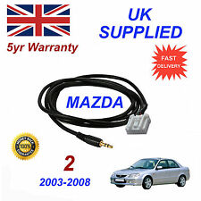 Mazda 2 AUX 3.5mm Input Audio cable High Quality Sound model year 03-08