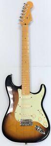 MA6 Fender American Deluxe Stratocaster Ash/Maple/2 Color Sunburst TSB, USA 2009