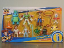 Imaginext Toy Story 4 Deluxe Figure Pack w Combat Carl, Forky, Bunny, Ducky & Bo