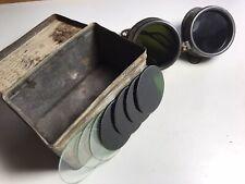 Vintage 1950's BOC ALDA Welding Goggles+spare Lenses.Steampunk.Retro.Boxed.Used.