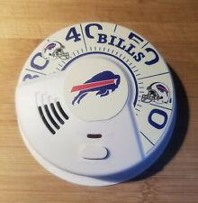 Universal Smoke/Fire Detector Buffalo Bills Branded MI3050S Battery NEW