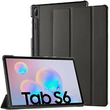 For Samsung Galaxy Tab S6 Case Premium Smart Book Stand Cover (T860 T865)