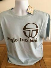 Sergio Tacchini Light Blue Retro T-Shirt