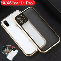 CHANGE Metal Camera Protective Tempered Glass Case Cover For iPhone 11 XS Max XR