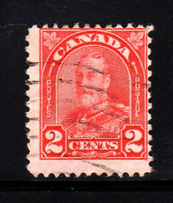 CANADA #167  3  CENT KING GEORGE V  ARCH/LEAF ISSUE  USED   c