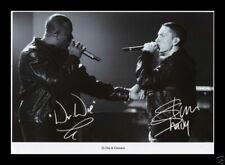 Dr Dre & Eminem Autographed Signed and Framed PP Photo Poster