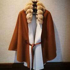 Loro Piana vicuna chinchilla fur cape Knightsbridge baby cashmere