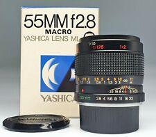 YASHICA LENS ML 55/2,8 MACRO