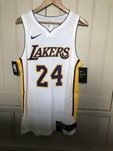 Nike Kobe Bryant Lakers Icon Jersey White Size 48 Large Jersey Authentic