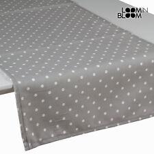 Caminos de mesa color principal gris