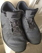 Nike Air Ring Leader Low 488102 Men's Sz 12 Black Gray Basketball Shoes