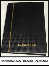 COLLECTION of INDIA STAMPS BLOCK OF 4 - in SMALL STOCK BOOK