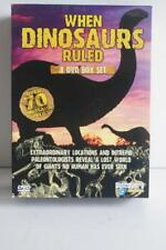 WHEN DINOSAURS RULED 8 DISC BOX SET.