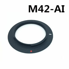 M42 Screw Mount Lens To NIKON AI Adaptor Ring