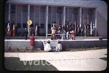 1950s Kodachrome photo slide Vallejo CA Teenage boys and girls school #10