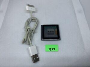 Apple iPod nano 6th Generation (8 GB) Aj851 Silver