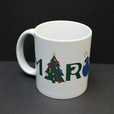 Maroon 5 Christmas Ornament & Tree 12oz Coffee Mug - 2017 Tour Concert Exclusive