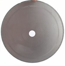 "10"" Diamond Lapidary Saw Blade Notched Rim 0.04"" Rock Slab W bushing 3/4"" 5/8"""