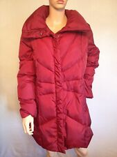 Designer Andrew Marc  New York red quilted coat size L ex-House of Fraser £120