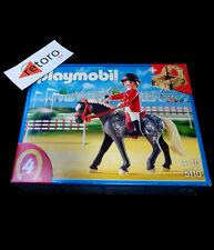 PLAYMOBIL 5110 CABALLO DE SALTO MASCULINO CON ESTABLO Country Show Horse