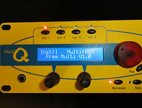 NEW Blue LCD Display Part for Waldorf MicroQ Micro Q Q-Series Rack Attack Synths