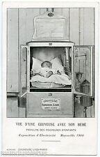 Couveuse Alexandre LION . Exposition d'Electricité. MARSEILLE 1908 .