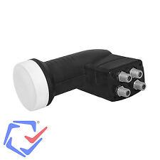 LTC Black SAT Konverter  LNB 4 teilnehmern 4 Receiver Sat Full HD Quad