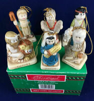 Vintage House of Lloyd Christmas Around the World Bible Story Ornaments 1991