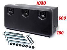 DAKEN 1000 Coffre a outils 154 L + SUPPORTS Boîte De Rangement Camions à outils