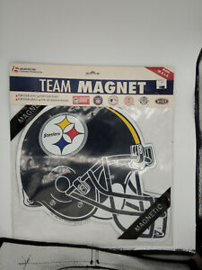NFL PITTSBURGH STEELERS 12 inch Car / Truck / Fridge Magnet by Fremont Die New