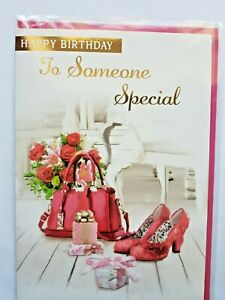 SOMEONE SPECIAL BIRTHDAY CARD.