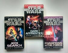 Star Wars The Jedi Academy Trilogy Kevin J Anderson  Volumes 1 2 3 Book Set